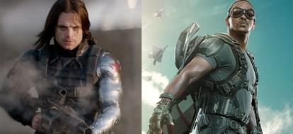Bucky( Soldado Invernal) e Falcão... Qual o destino deles no cinema?
