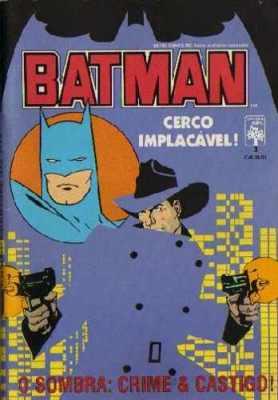 O Sombra de Howard Chaykin, publicado em formatinho em 1988!