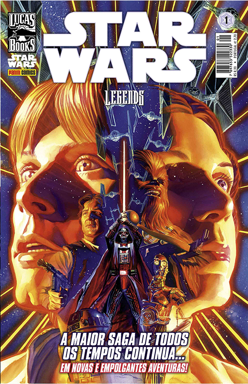 Capa de Star Wars: Legends