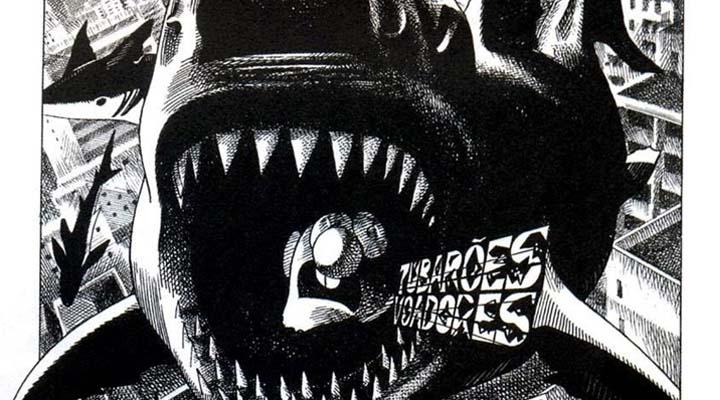 Tubarões Voadores, uma obra experimental que uniu música e HQ.
