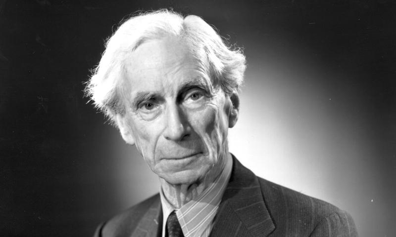 Bertrand Russel em 1951!