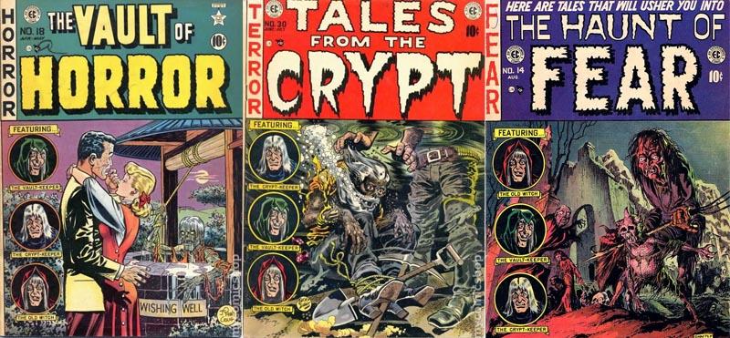 Mini documentário sobre os artistas da EC Comics