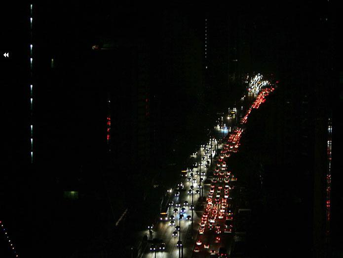 Além do caos urbano durante o Apagão de 2009, o índice de criminalidade aumentou. Imaginem se a escuridão se estendesse por mais tempo.