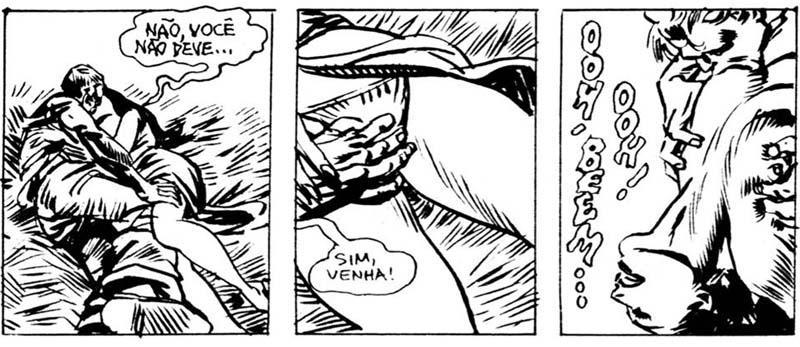 afrodite quadrinhos eroticos - editora veneta