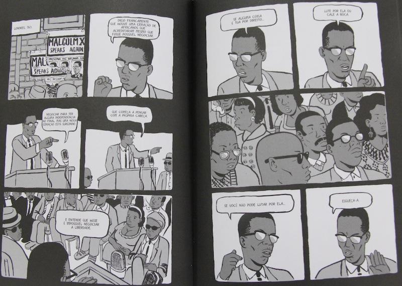 Lançada pela Veneta, a HQ Coltrane conta a história do lendário músico.