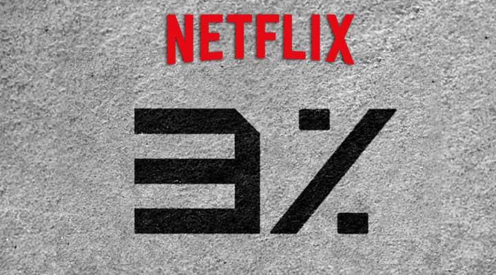 3% no Netflix