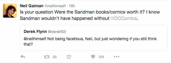 Neil Gaiman Twitter