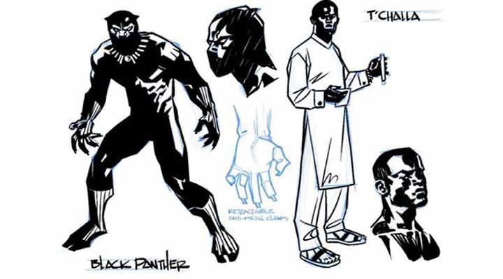 Nova série do Pantera Negra