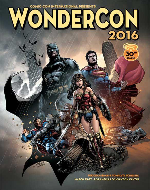 Poster da Wondercon 2016, por Jason Fabok