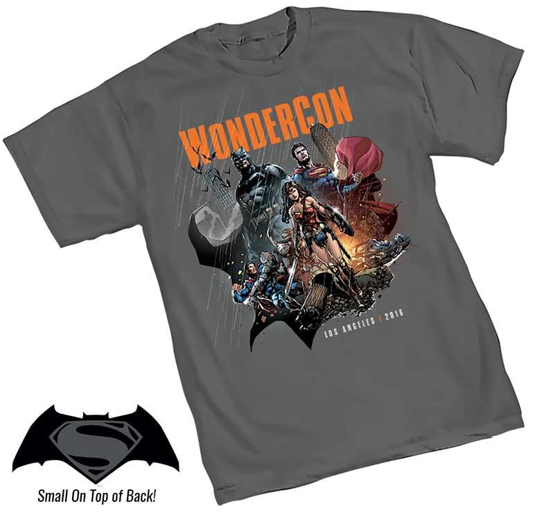Camiseta Wondercon 2016