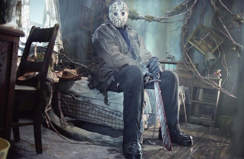 Jason já um pouquinho cansado...