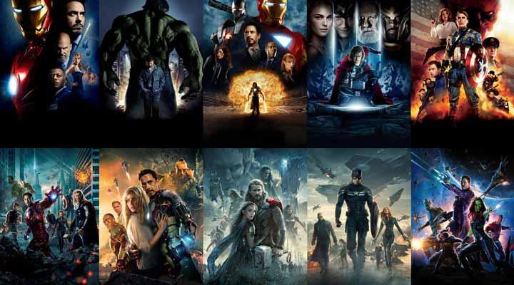 Filmes da Marvel - Música
