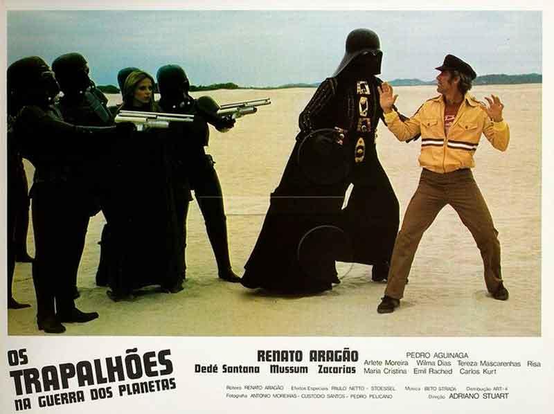 Os plágios (ou rip-offs, se preferir) descarados da saga Star Wars