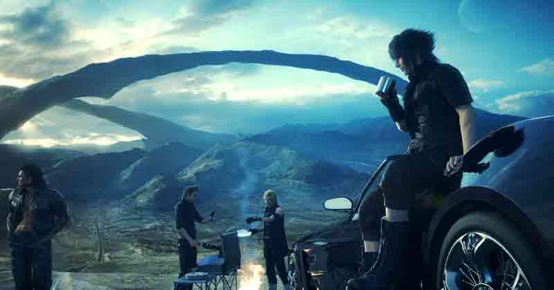 Final Fantasy XV oferece uma senhora road trip - inesquecível!