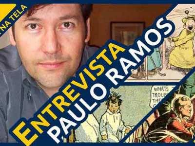Paulo Ramos entrevistado no Formiga na Tela, no Dia do Quadrinho Nacional!