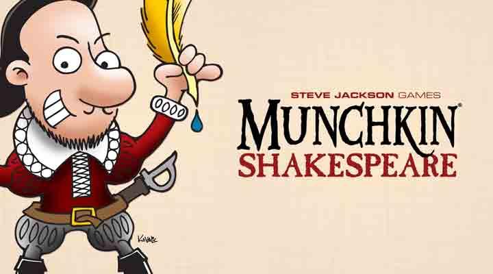 Munchkin tem versão shakespeareana esperando para sair no kickstarter