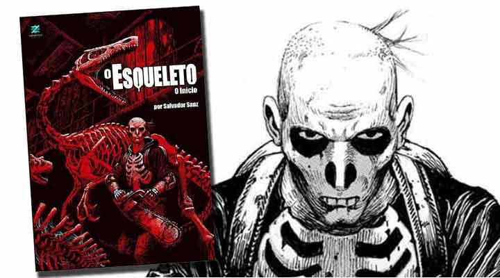 O Esqueleto: O Início! - Salvador Sanz
