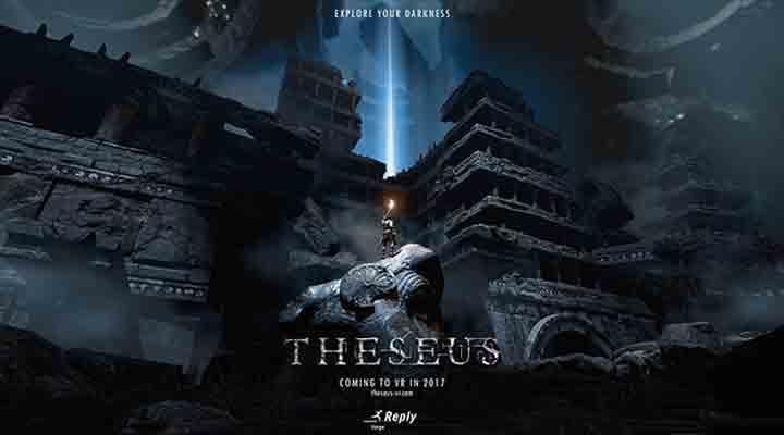 Em Theseus, a Forge Reply revive o mito do guerreiro e do Minotauro pela perspectiva da realidade virtual