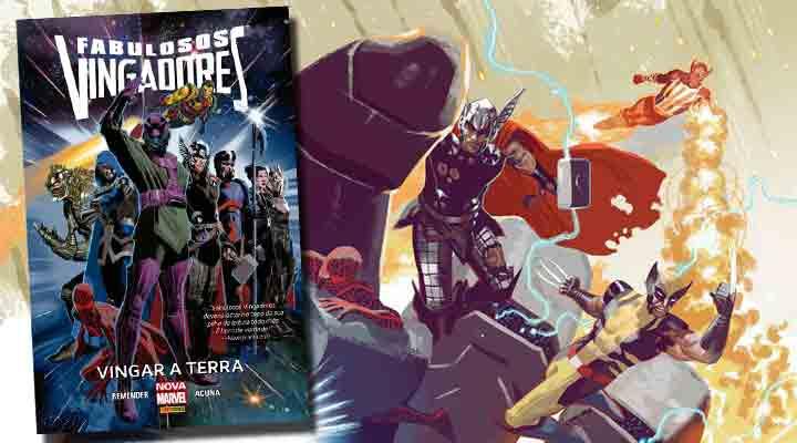 Fabulosos Vingadores: Vingar a Terra - Panini