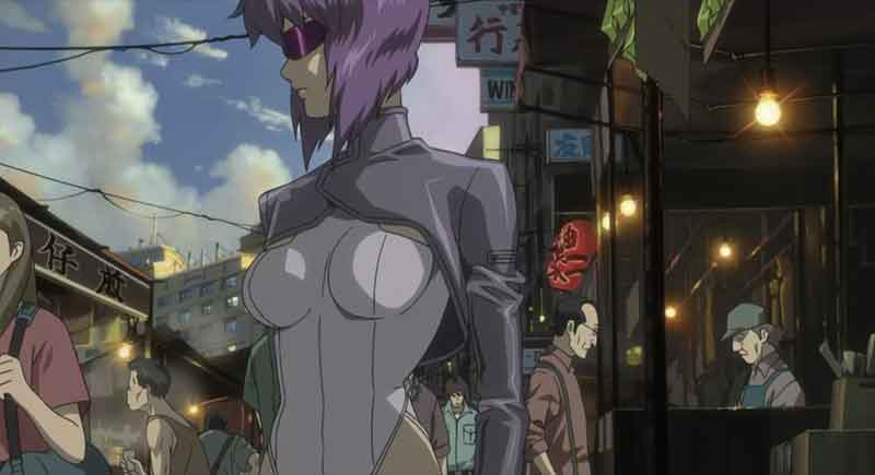 A fenomenologia em Ghost in The Shell