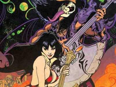 KISS/Vampirella é o novo crossover da Dynamite