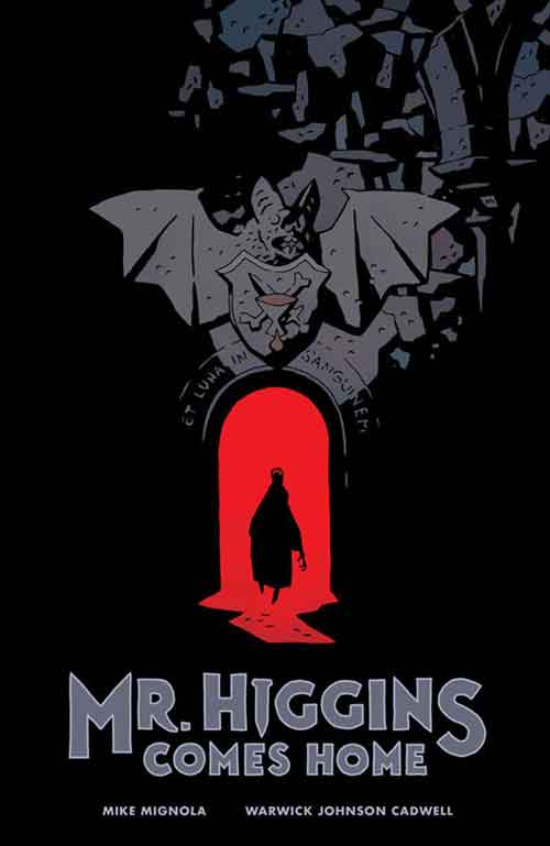 Warwick Johnson-Cadwell ilustra o roteiro de Mike Mignola em Mr. Higgins Comes Home