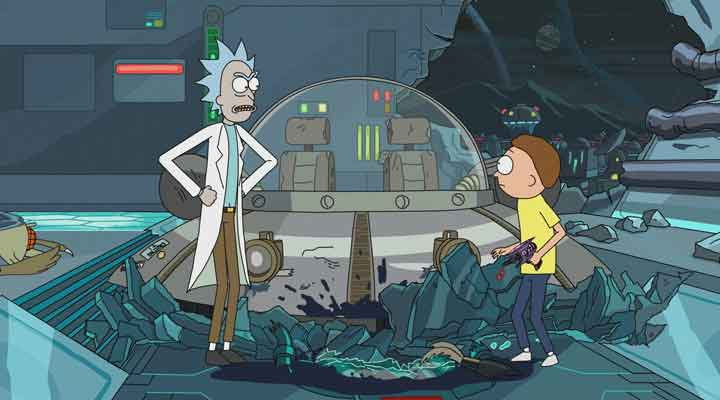 Oito prévias bizarras de Rick e Morty (Rick and Morty).
