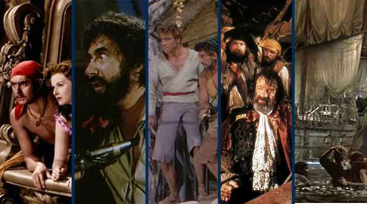 Cinco filmes de piratas