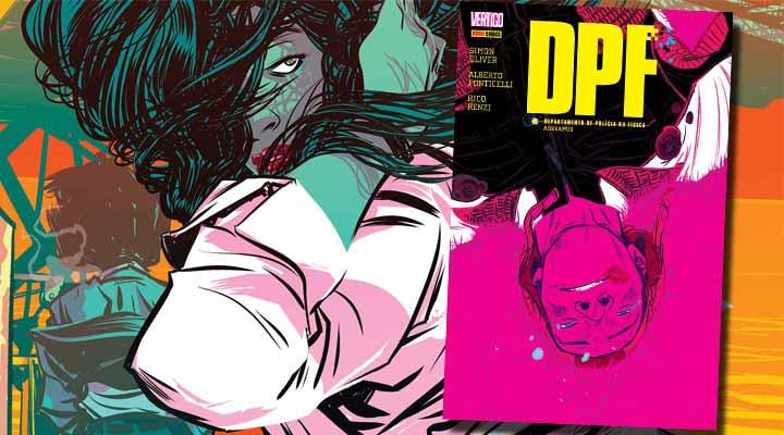 Resenha de DPF Vol 3 - Panini Vertigo
