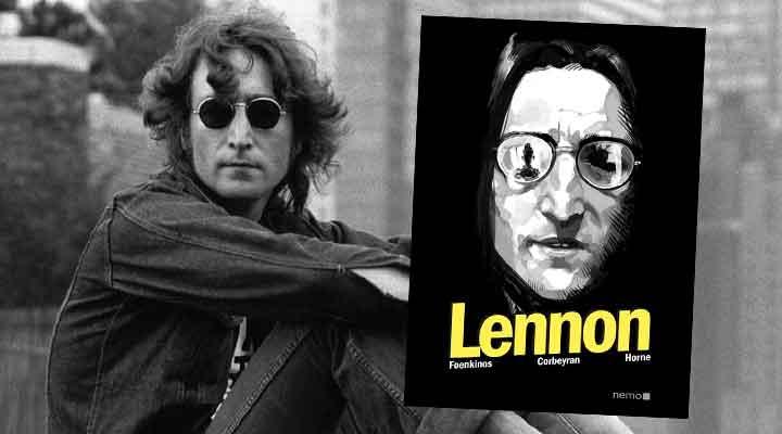 Resenha da HQ Lennon, da editora Nemo