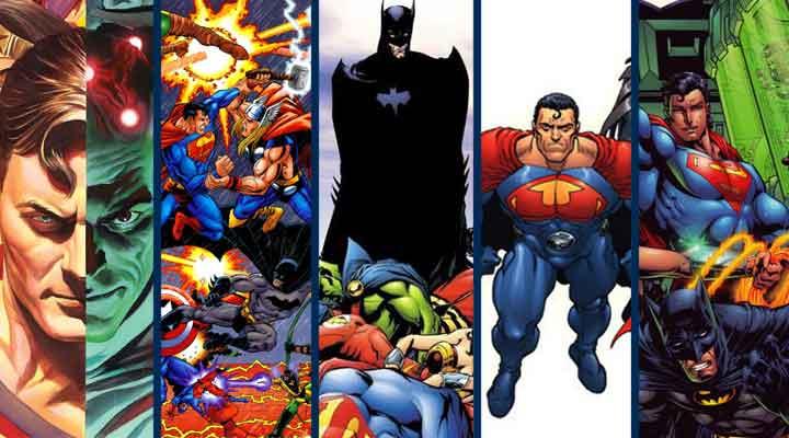 A Liga da Justiça e suas cinco melhores HQ's