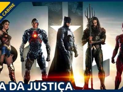 O filme da Liga da Justiça no Formiga na Cabine