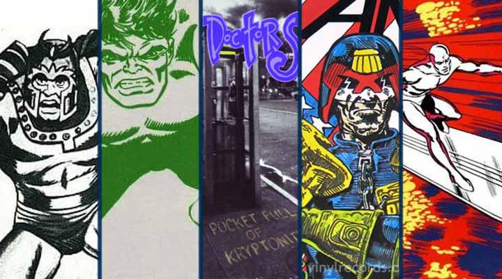 Músicas super herois quadrinhos