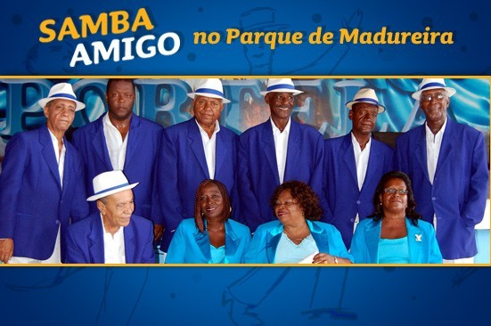 Samba Amigo no Parque Madureira - Foto Velha Guarda da Portela