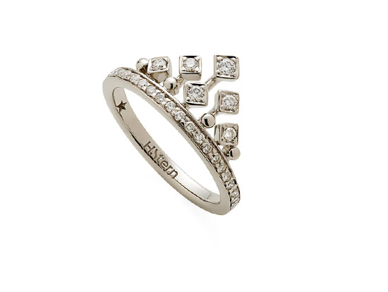 Noble Gold 18K Ring King And Queen HStern Jewellers
