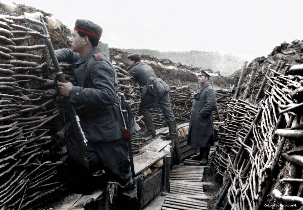 Fotos colorizadas trazem Primeira Guerra à vida 03