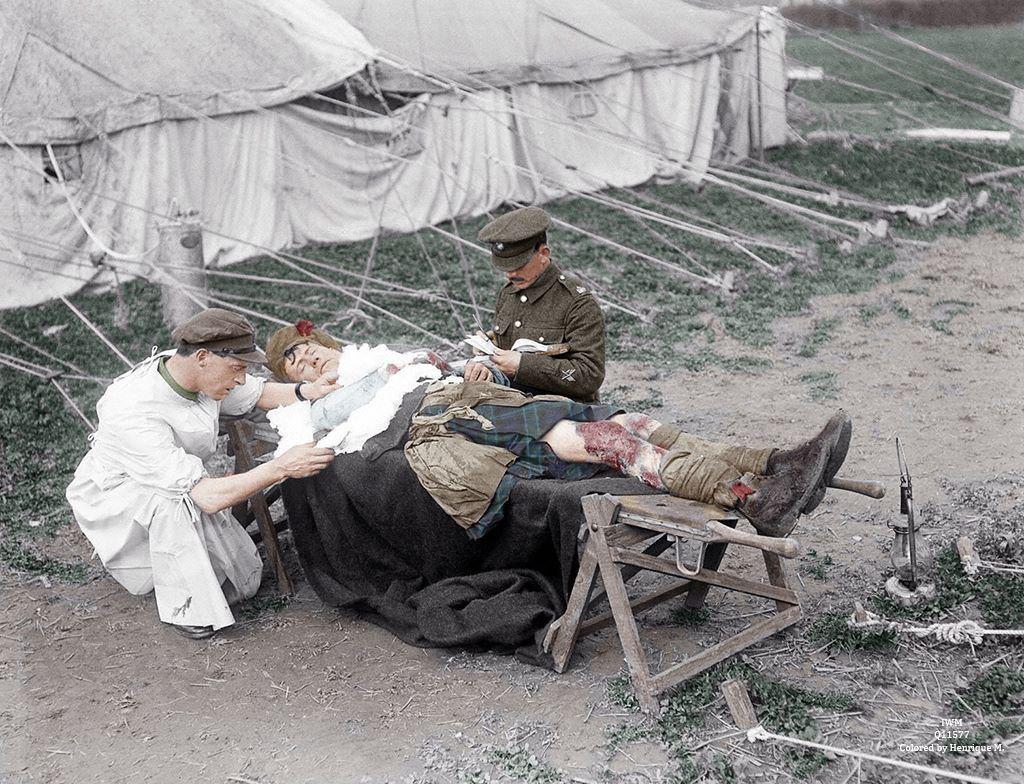 Fotos colorizadas trazem Primeira Guerra à vida 06
