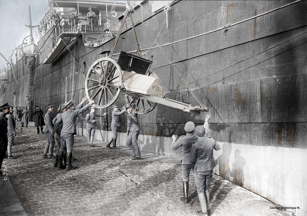 Fotos colorizadas trazem Primeira Guerra à vida 08