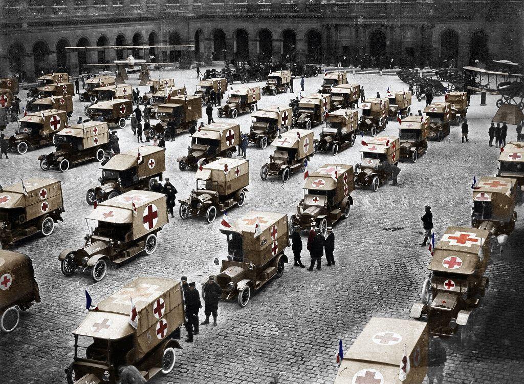 Fotos colorizadas trazem Primeira Guerra à vida 09