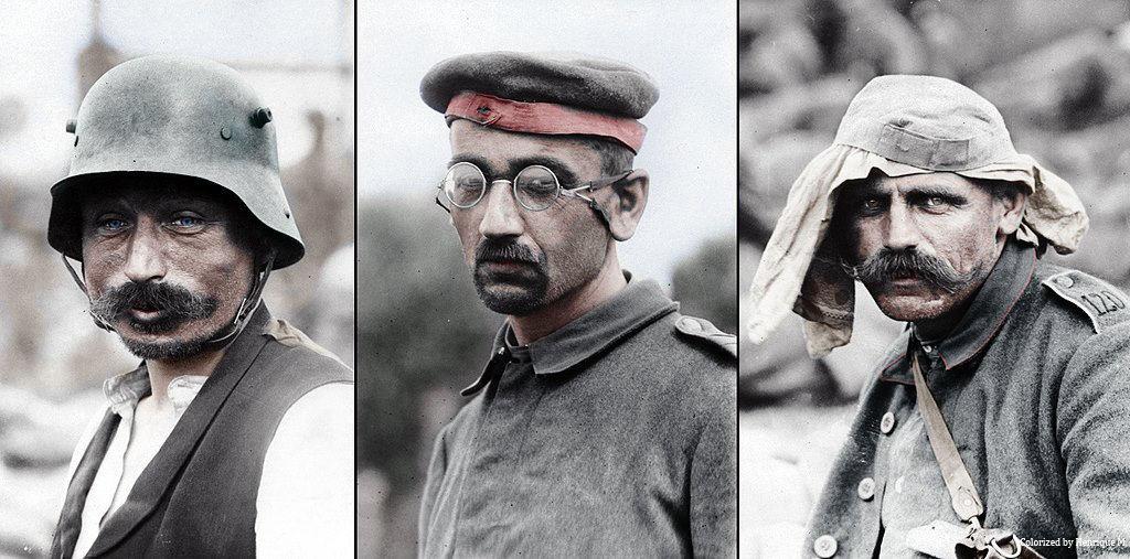Fotos colorizadas trazem Primeira Guerra à vida 10