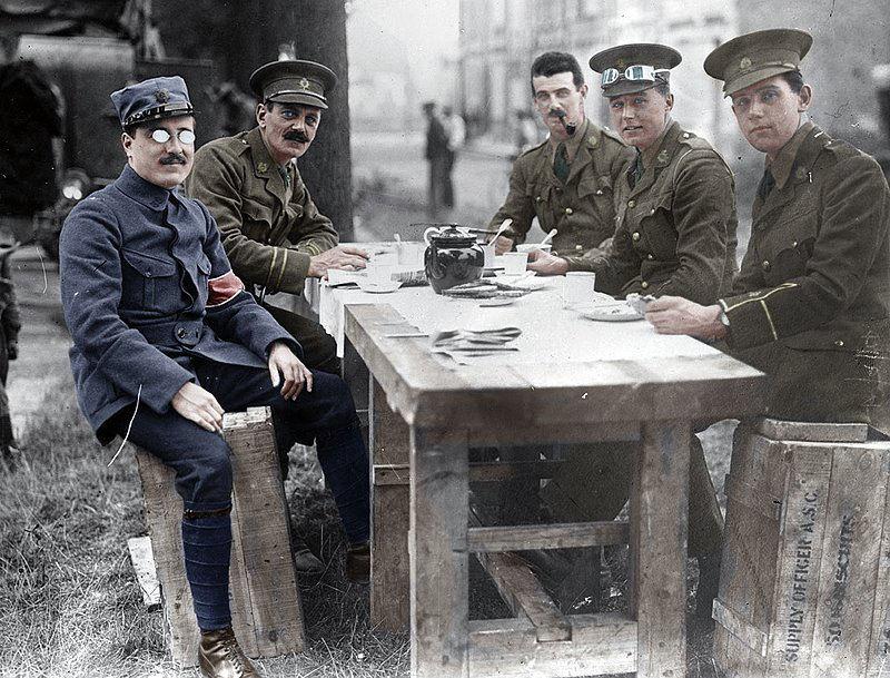 Fotos colorizadas trazem Primeira Guerra à vida 15