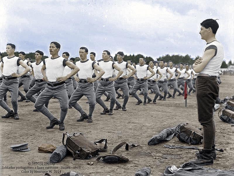 Fotos colorizadas trazem Primeira Guerra à vida 16