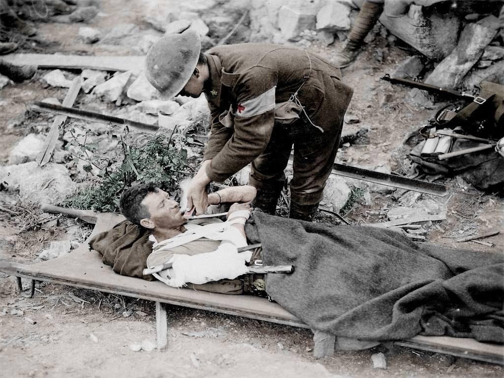 Fotos colorizadas trazem Primeira Guerra à vida 17