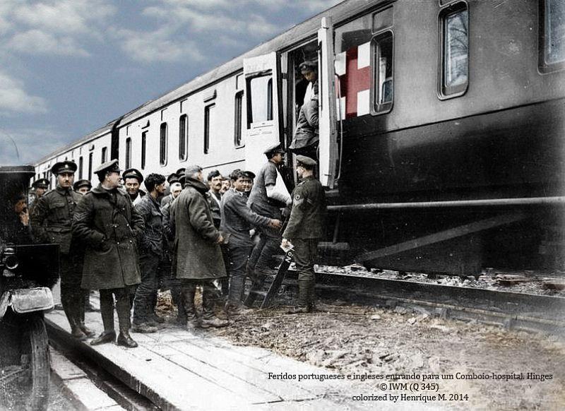 Fotos colorizadas trazem Primeira Guerra à vida 20