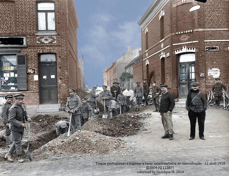 Fotos colorizadas trazem Primeira Guerra à vida 21
