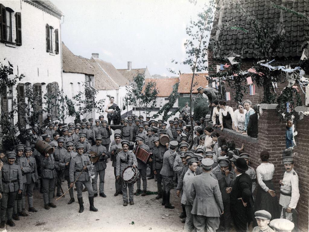 Fotos colorizadas trazem Primeira Guerra à vida 33