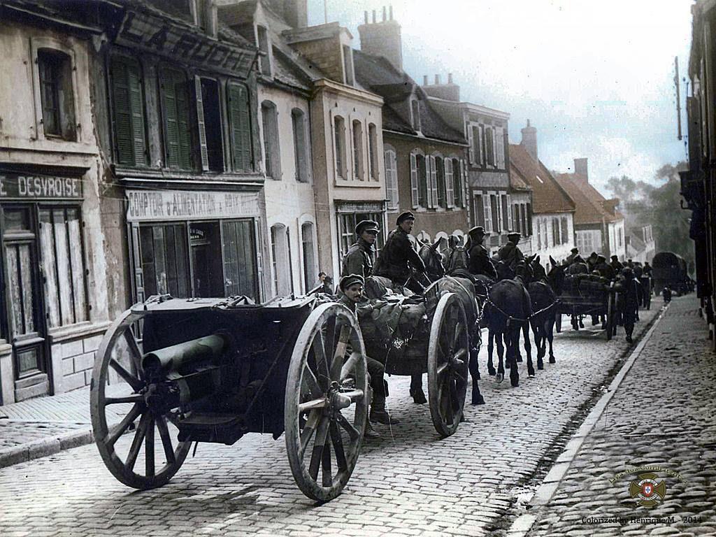 Fotos colorizadas trazem Primeira Guerra à vida 34