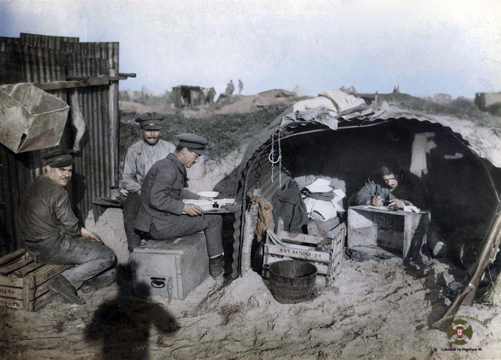 Fotos colorizadas trazem Primeira Guerra à vida 36