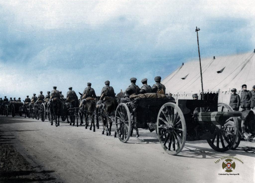 Fotos colorizadas trazem Primeira Guerra à vida 39