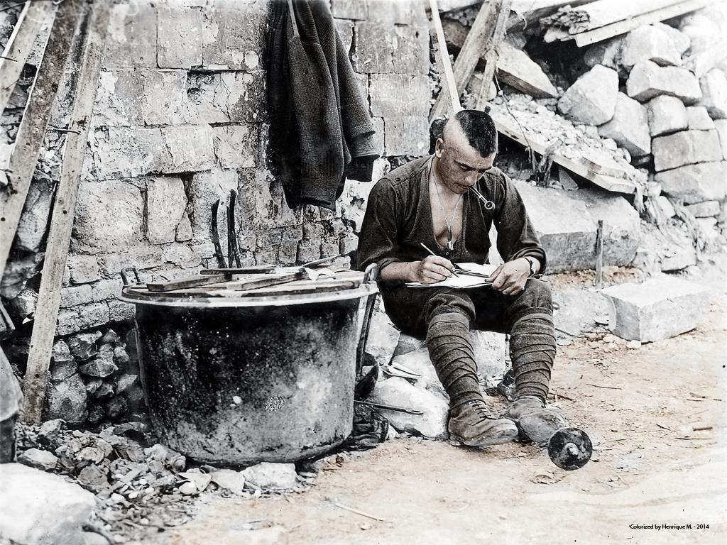 Fotos colorizadas trazem Primeira Guerra à vida 42